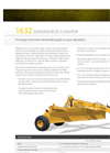 Landoll - Model 1632 - Pull Type Grader / Box Scraper - Brochure