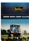 Landoll - Model 2000 - Row Crop Cultivator - Brochure