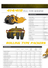Landoll - Model 414 - Pull Type Scraper - Brochure