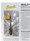 Bendi - Model B3/30AC - VNA Electric Warehouse Truck - Brochure