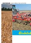 MULTISOILER - 5.00 m + 6.00 m Universal Mulch-Till Cultivator Brochure