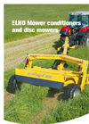ELHO Arrow - Model NM 10500 Delta - Double Mower Conditioners Brochure