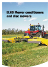 ELHO Arrow - Model 3700 - Trailed Mower Conditioners Brochure