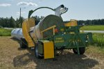 ELHO Tube - Model 2020 ACI - Versatile Silage Bale Wrapper