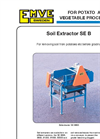 Model SE B600 - Soil Extractor Brochure