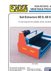 Model SE D, SE S Series - Soil Extractor Brochure