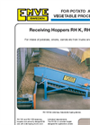 Model RH K, RH S - Receiving Hoppers Brochure