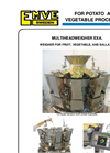 Model EXA - Multi Weigher Brochure
