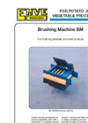 Model BM - Brushing Machine Brochure