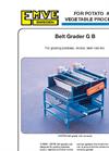 Model G B - Belt Grader Brochure