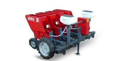 Model PLMS - Single Row Mechanical Garlic & Onion Planter