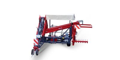 Model RE1 - One Row Harvester Topper Carried Machine