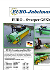 Model GSKM Series - Sweeping Machines Brochure