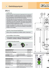 Model ER2-S - Centrifugal Slurry / Manure Pump Brochure