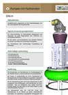Model ER4-H - Sludge and Slurry Pump Brochure