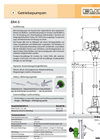 Model ER4-S - Centrifugal Slurry / Manure Pump Brochure
