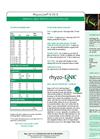 Nachurs Rhyzo-Link - Model 9-15-3 - Premium Liquid Starter & Foliar Fertilizer - Datasheet