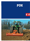 FOX - Model 2500 and 3000 - Power Harrows Brochure