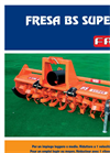 Model BS - Rotary Tillers Brochure