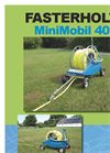 Fasterholt - Model Minimobil 40 - Bording Irrigation Machines - Brochure