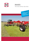 Model TH 4504 DN, TH 5204 DN, TH 6606 DN, TH 7706 DN - Three-Point Attachmen Hay Tedder Brochure
