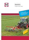 Model TS 301 DN, TS 351 DN, TS 391 DN - Single Rotor Rakes Brochure