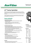 Model LF800 / LF1200 / LF2400 - Sprinkler-Brochure