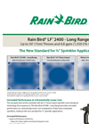 Model LF 2400 - Long Range Sprinkler Brochure