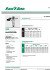Model L20VH - 1/2` Impact Sprinklers Brochure
