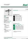 Model L20H - 1/2` Impact Sprinklers Brochure