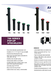 700 Series-Pop Up Sprinklers-Brochure
