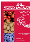 Fruit Cleaning Trailer Products Catalog