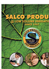 Salco - Model 6mm - Micro Dripline Brochure