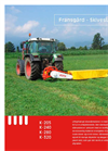 Model K-205 - Disc Mower Brochure