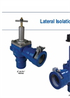 Lateral Isolation Valve Brochure