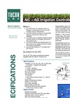 Tucor - Model AIC-AG - Agricultural Irrigation Controller - Brochure