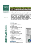 Tucor - Model TDI - 2-Wire Decoder Interface - Brochure
