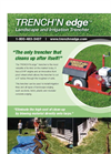 Landscape and Irrigation Trencher Brochure