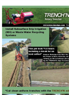 Trench N Edge - Rotary Trencher - Brochure