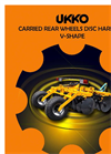 Rear Wheels V-shape Disc Harrows-RTN Series Brochure