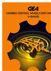 Central Wheels V-shape Disc Harrows-RCL Series  Brochure