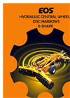 EOS - RCHX - X-Shape Hydraulic Folding Disc Harrows- Brochure