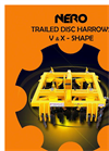 NERO - Model SV Series - V-Shape Trailed Disc Harrows Brochure