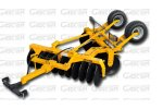 UKKO - Model RTSE Series - Rear Wheels V-Shape Disc Harrows