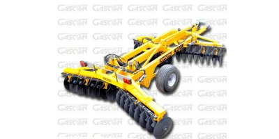 EOS - Model RCHX Series - X-Shape Hydraulic Folding Disc Harrows