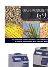 Bench - G 939 - Grain Moisture Meter- Brochure