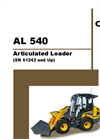 Gehl - Model 540 - Articulated Loader (Cab) - Manual