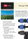 Pro-Loc - - Drip Tape Fittings Datasheet