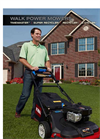 Walk Power Mowers- Brochure