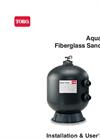Aqua-Clear - Fiberglass Sand Filters Brochure